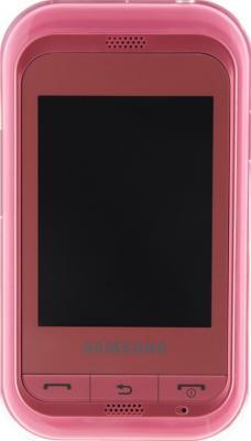 Мобильный телефон Samsung C3300 Pink (GT-C3300 SIISER) - вид спереди