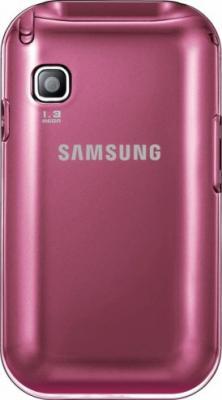 Мобильный телефон Samsung C3300 Pink (GT-C3300 SIISER) - вид сзади