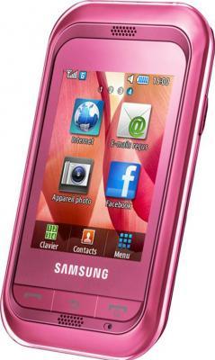 Мобильный телефон Samsung C3300 Pink (GT-C3300 SIISER) - общий вид