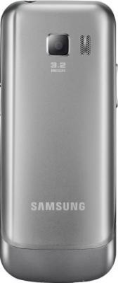Мобильный телефон Samsung C3530 Silver (GT-C3530 HSASER) - вид сзади