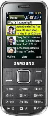 Мобильный телефон Samsung C3530 Silver (GT-C3530 HSASER) - вид спереди