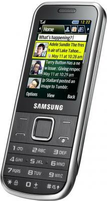 Мобильный телефон Samsung C3530 Silver (GT-C3530 HSASER) - вполоборота