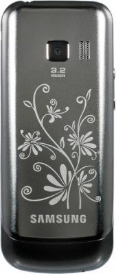 Мобильный телефон Samsung C3530 Red (GT-C3530 WRFSER) - вид сзади