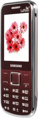 Мобильный телефон Samsung C3530 Red (GT-C3530 WRFSER) - вид сбоку