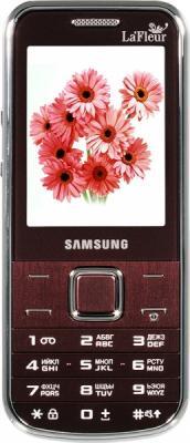 Мобильный телефон Samsung C3530 Red (GT-C3530 WRFSER) - вид спереди