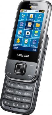 Мобильный телефон Samsung C3752 Gray (GT-C3752 MAASER) - общий вид