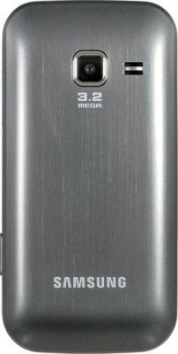 Мобильный телефон Samsung C3752 Gray (GT-C3752 MAASER) - вид сзади