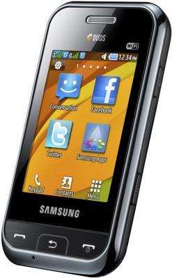 Мобильный телефон Samsung E2652 Champ Black - общий вид