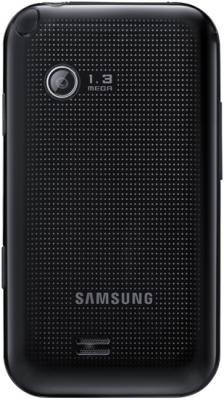 Мобильный телефон Samsung E2652 Champ Black - вид сзади