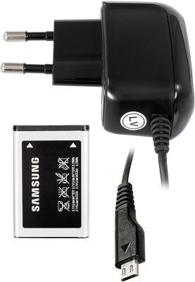 Мобильный телефон Samsung E2652 Champ Black - зарядное, аккумулятор