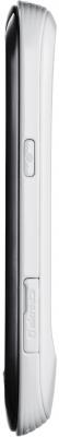 Мобильный телефон Samsung S3850 Corby II White - вид сбоку
