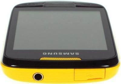 Мобильный телефон Samsung S3850 Corby II Yellow - общий вид