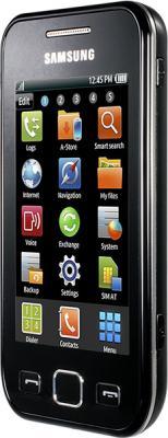 Смартфон Samsung S5250 Wave 525 Black (GT-S5250 HKASER) - вид сбоку