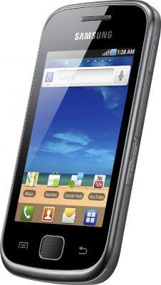 Смартфон Samsung S5660 Galaxy Gio Dark Silver (GT-S5660 DSASER) - общий вид