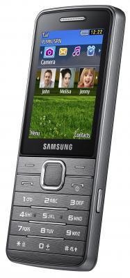 Мобильный телефон Samsung S5610 Silver (GT-S5610 MSASER) - общий вид