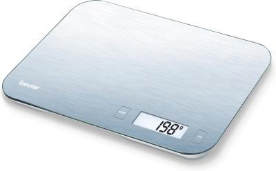 Кухонные весы Beurer KS 48 (Steel) - вид спереди