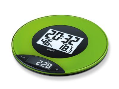 Кухонные весы Beurer KS 49 (зеленый) - общий вид