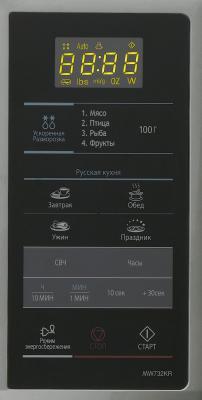 Микроволновая печь Samsung MW732KR-S/BWT  - панель управления
