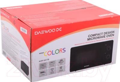 Микроволновая печь Daewoo KOR-5A17B - коробка