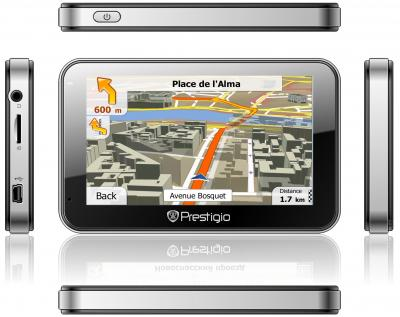 GPS навигатор Prestigio GeoVision 4500 (PGPS4500CIS4SMNV) - общий вид
