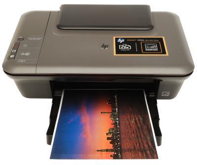 МФУ HP Deskjet 1050A (CQ198C) - вид спереди