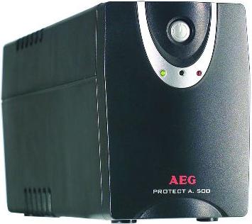 ИБП AEG Protect A.500 - общий вид