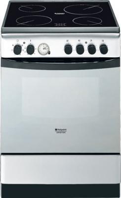 Кухонная плита Hotpoint CE 6V M3 (X) - общий вид