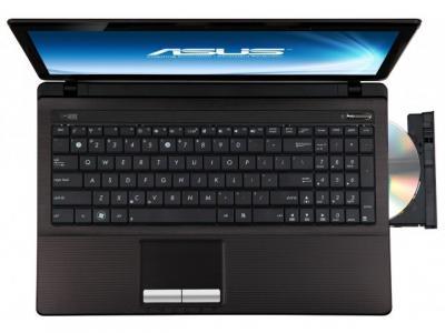Ноутбук Asus X53U-SX197D - сверху