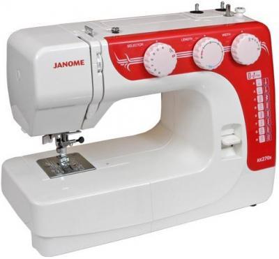 Швейная машина Janome RX 270S - вид сбоку