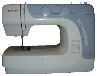Швейная машина Janome EL532 - вид сбоку