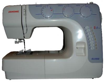 Швейная машина Janome EL545S - вид сбоку