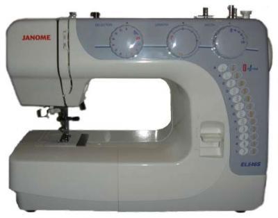 Швейная машина Janome EL546S - вид сбоку