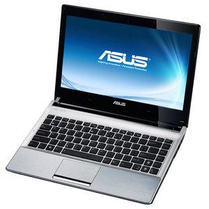 Ноутбук Asus U30SD (90N3ZAB44W1722VD53AY) - спереди открытый