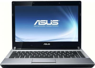 Ноутбук Asus U30SD-RO067V (90N3ZAB44W1522VD53AY) - фронтальный вид