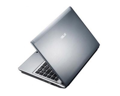Ноутбук Asus U41SV (90N4JA454W1515VD73AY) - полуоткрытый сзади