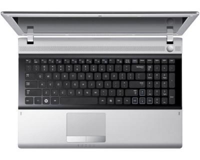 Ноутбук Samsung RV513 (NP-RV513-A01RU) - сверху открытый