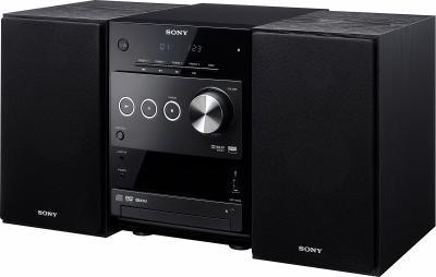 Микросистема Sony CMT-DX400 - Вид спереди