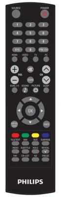 Монитор Philips 231T1LSB - пульт управления