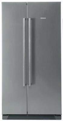 Холодильник с морозильником Bosch KAN56V45 - вид спереди