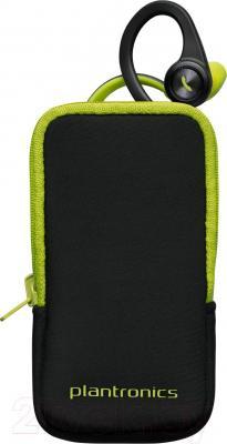Наушники-гарнитура Plantronics BackBeat FIT (зеленый) - чехол
