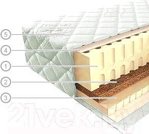 Матрас Vegas Эколатекс 14 (100x180) - общий вид