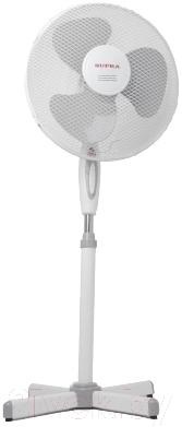 Вентилятор Supra VS-1601 (бело-серый)