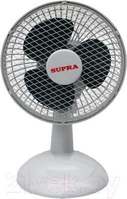 Вентилятор Supra VS-601 (бело-серый) - общий вид