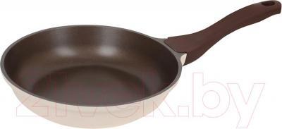 Сковорода Polaris Safari 20F (бежево-коричневый) - общий вид