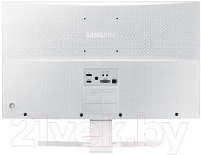 Монитор Samsung S27E591C (LS27E591CS/CI) - вид сзади