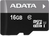 Карта памяти A-data Premier microSDHC UHS-I (Class 10) 16GB (AUSDH16GUICL10-R) -