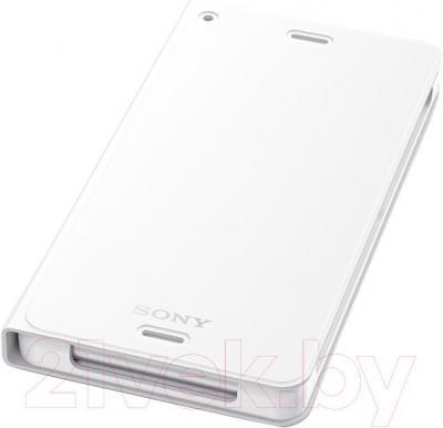 Беспроводной зарядный чехол Sony WCR14W (белый) - общий вид