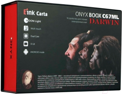 Электронная книга Onyx Boox C67ML Darwin (серый)