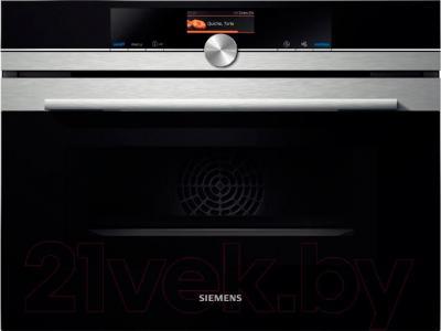 Электрический духовой шкаф Siemens CM636GBS1 - общий вид