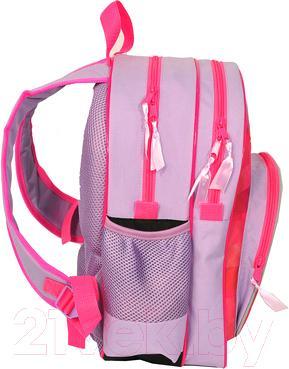 Школьный рюкзак Paso 13-157C - вид сбоку